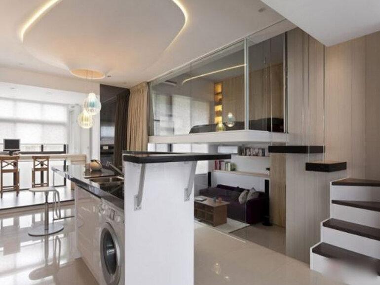 Ý tưởng thiết kế thông minh cho ngôi nhà chật hẹp
