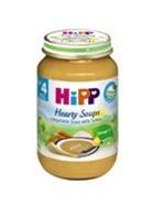 Thức ăn dặm đóng lọ Hipp súp gà tây, rau tổng hợp 190g