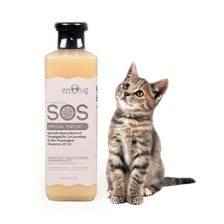 Sữa tắm SOS cho mèo được chiết xuất từ các thành phần tự nhiên
