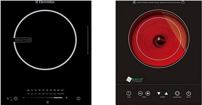 Bếp từ và bếp hồng ngoại khác nhau thế nào?