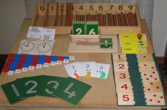 dạy toán học cho phương pháp montessori