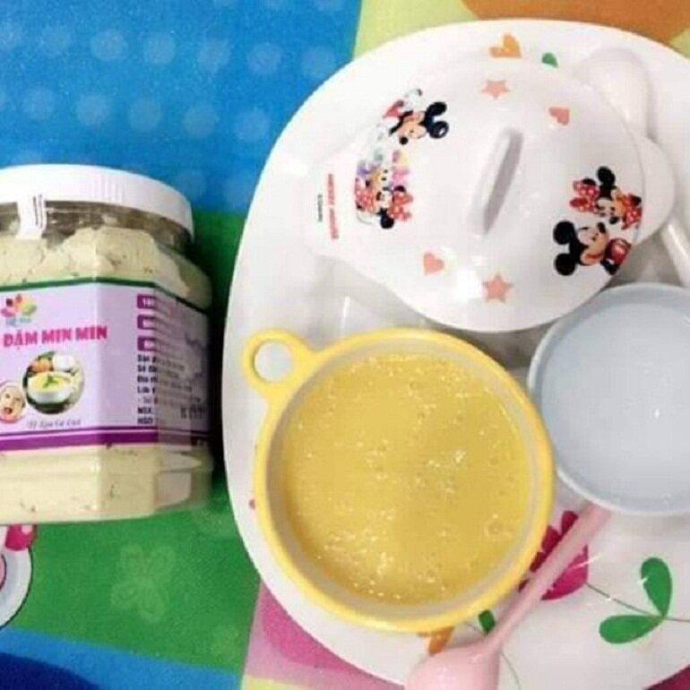 Bột ăn dặm Minmin được nhiều các bà mẹ Việt tin chọn