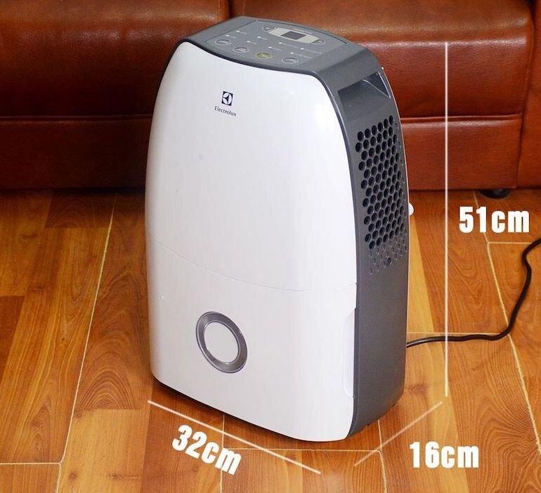 Đặc điểm nổi bật của máy hút ẩm Electrolux EDH16SDAW