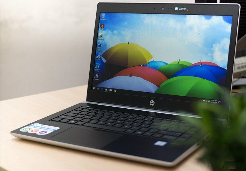 Laptop ProBook 440 G5 có kiểu dáng khỏe khoắn, cứng cáp và độ bền cao