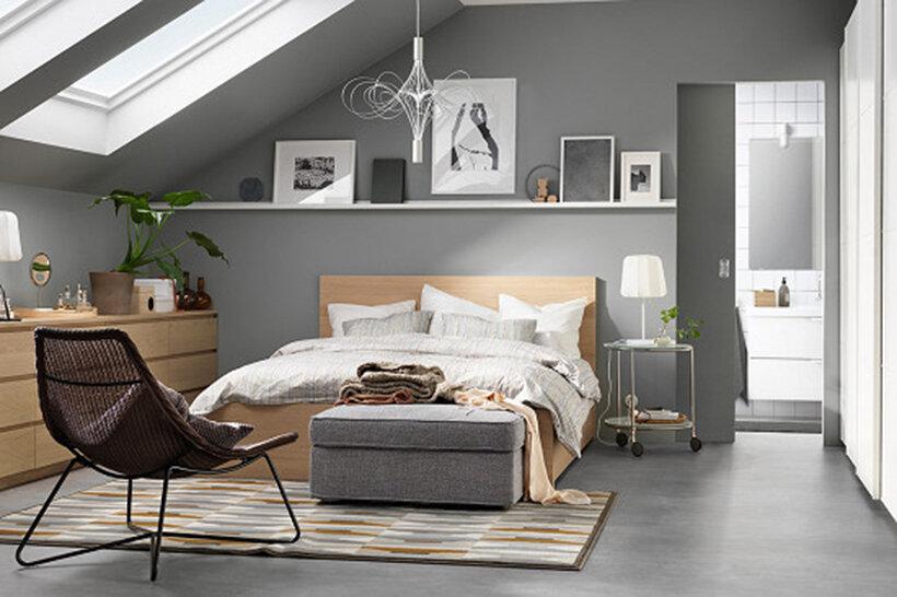 Kiểu dáng đơn giản, sang trọng phù hợp với phong cách nội thất hiện đại
