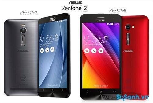 Vẫn sử dụng thiết kế Zen, nhưng Zenfone đã sử dụng kim loại cho chất liệu vỏ