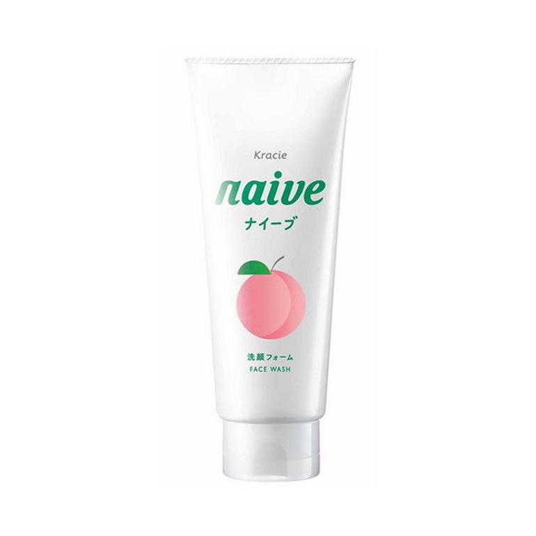 Sữa rửa mặt lá đào Naive dành cho những nàng có làn da khô