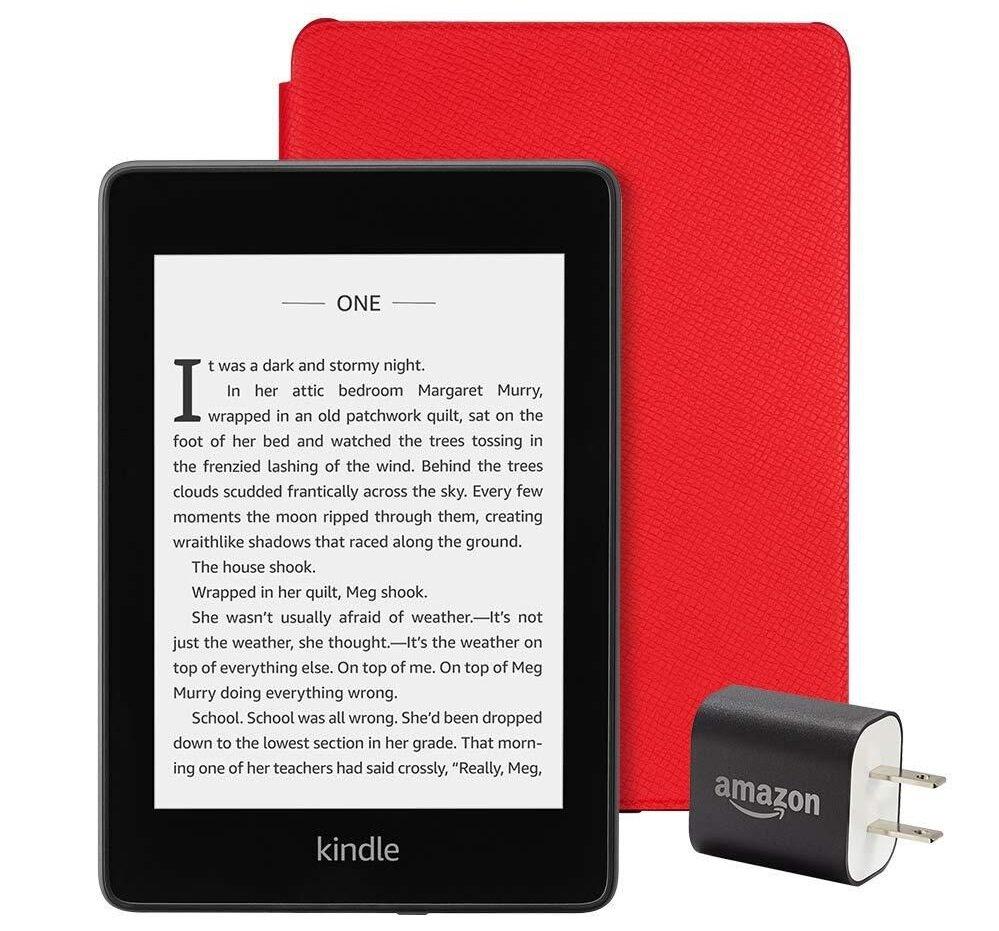 Màn hình sáng của Kindle còn giúp chống chói mắt, cho bạn những giờ phút đọc sách, học tiếng anh thoải mái