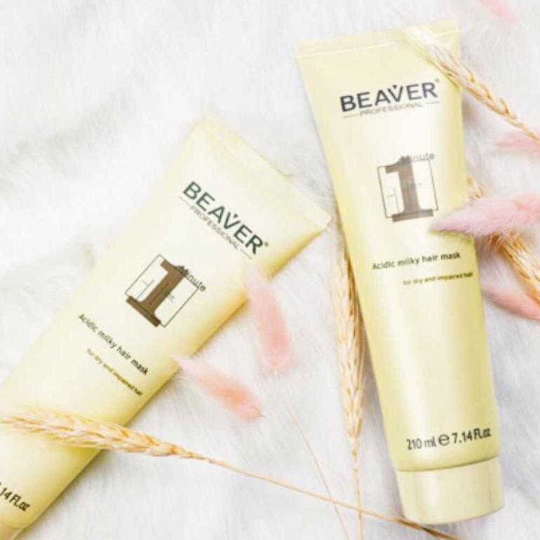 Beaver 1 Minute Acidic Milky Hair Mask