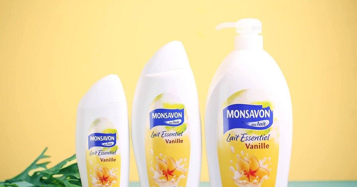 Sữa tắm Monsavon của nước nào sản xuất?