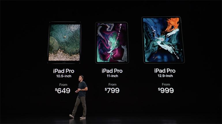 Máy tính bảng iPad Pro 2018 ra mắt: Thiết kế tràn màn hình ấn tượng , cấu hình siêu mạnh