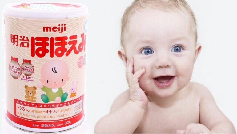 Có nên tiếp tục sử dụng sữa Meiji cho con khi cân nặng của con tăng chậm hay không