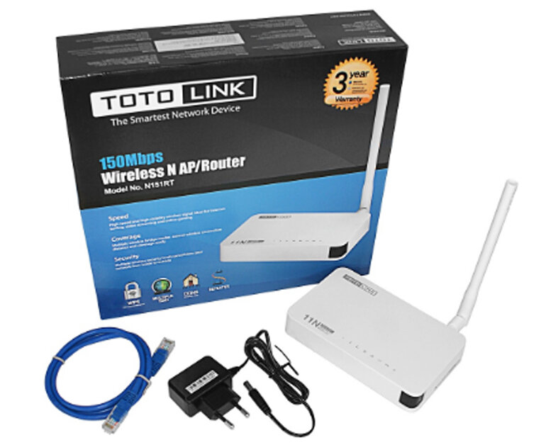 Bộ mở rộng sóng Wifi TotoLink ND150