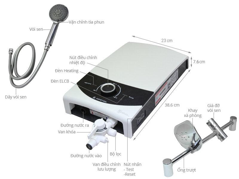 Máy nước nóng Ariston SMC45pPE-VN