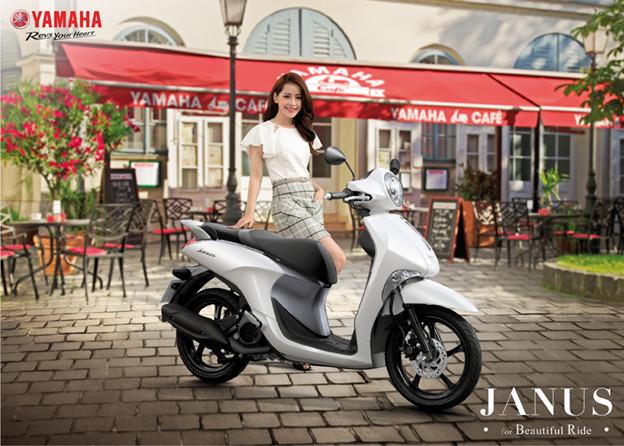 Yamaha Janus được lòng phái đẹp với những ưu điểm nổi bật được nhãn hàng đầu tư chăm chút