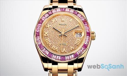 Đồng hồ nữ Rolex Datejust Pearlmaster
