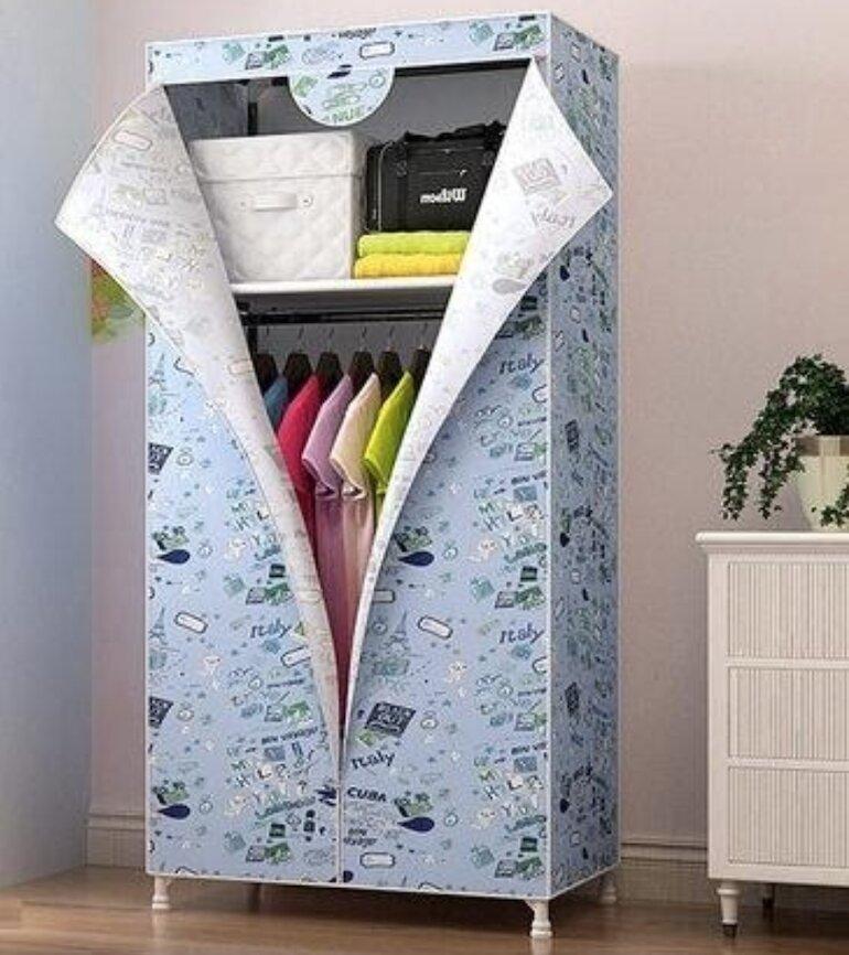 Tủ quần áo giá rẻ bằng vải