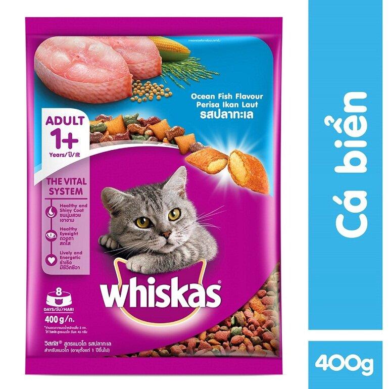 Thức ăn cho mèo Whiskas