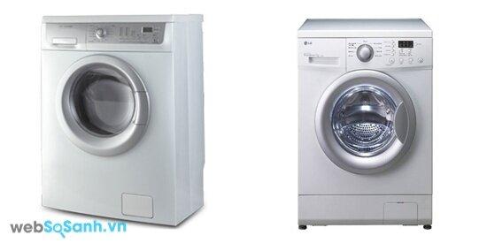 Electrolux EWF8576 và LG WD9900 (nguồn: internet)