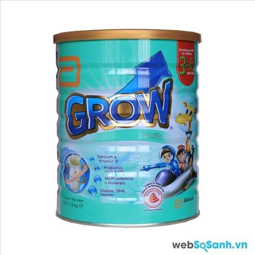 Sữa bột Abbott Grow Singapore