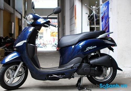 Yamaha Nozza là chiếc xe thời trang