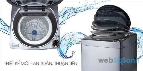 máy giặt 5 triệu 9,5kg Sharp giá rẻ nhất