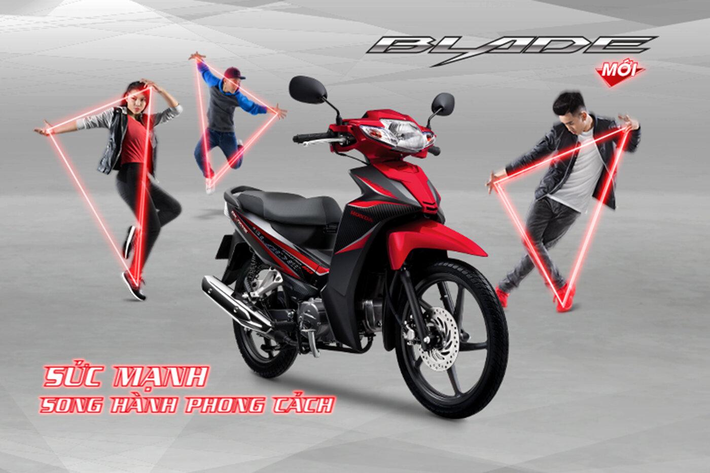 Honda Blade 110 mang đến sự trẻ trung và năng động