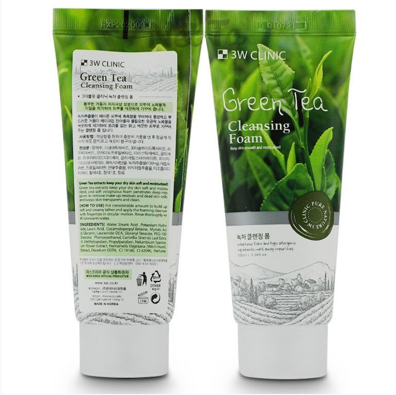 Sữa rửa mặt 3w Clinic Green Tea Cleansing Foam