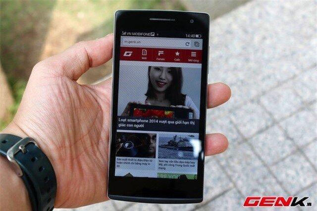 Oppo Find 5 mini: Thiết kế đẹp, camera tốt, nhiều tiện ích