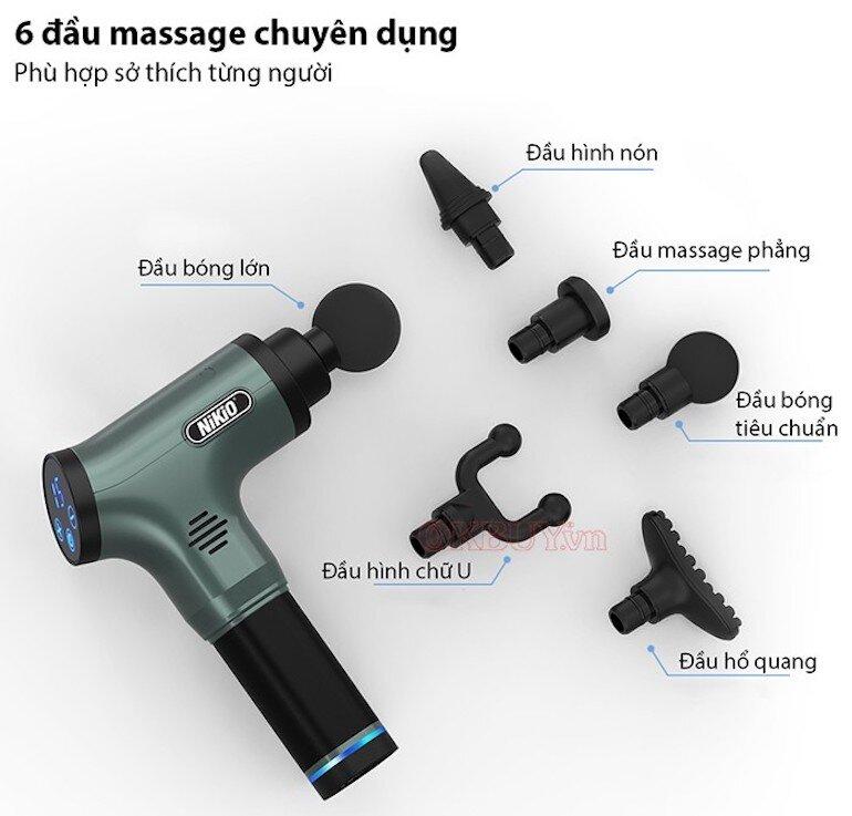 Súng massage gun điều trị căng cơ NIKIO NK-172