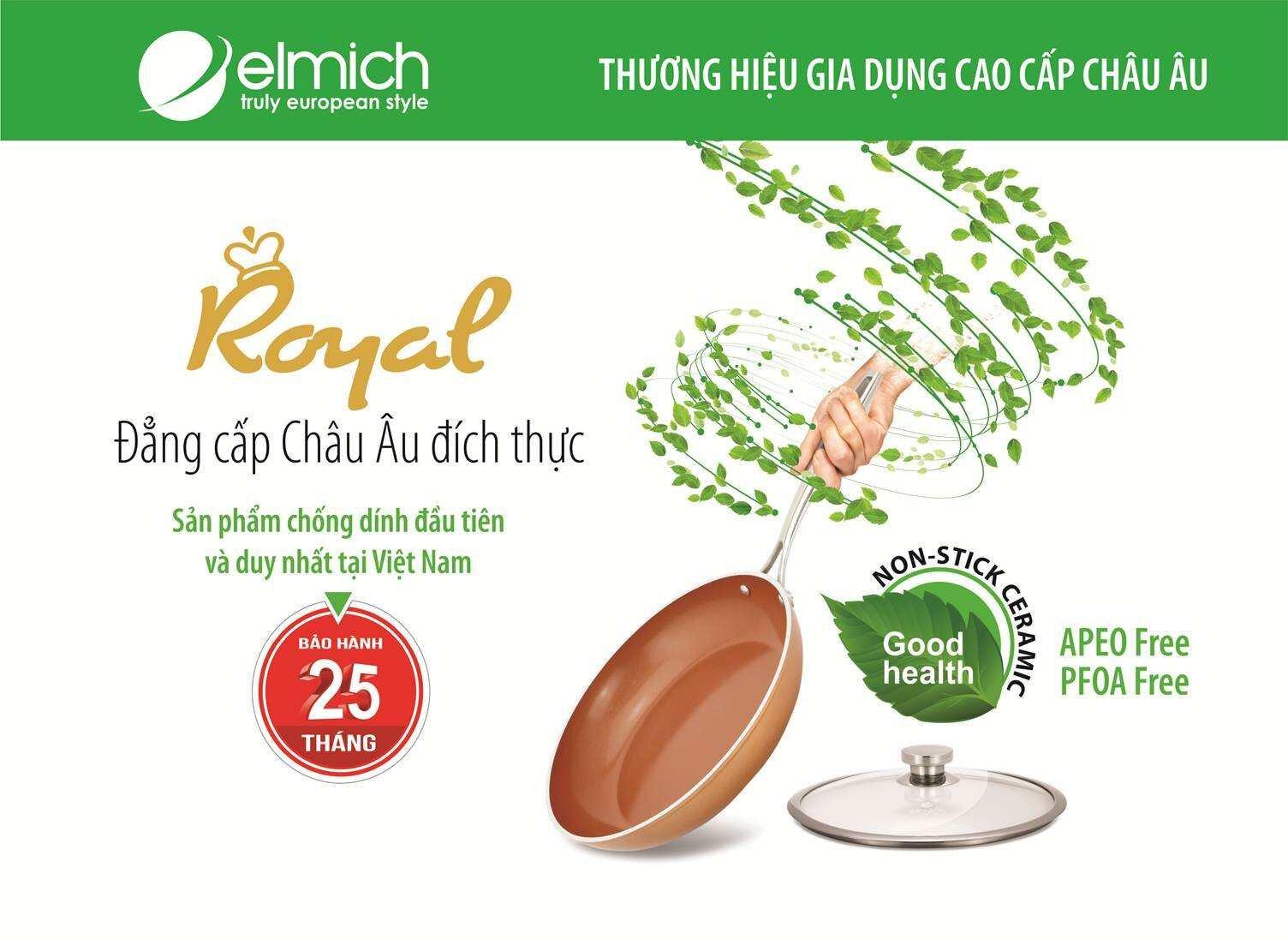 Elmich- thương hiệu gia dụng cao cấp Châu Âu