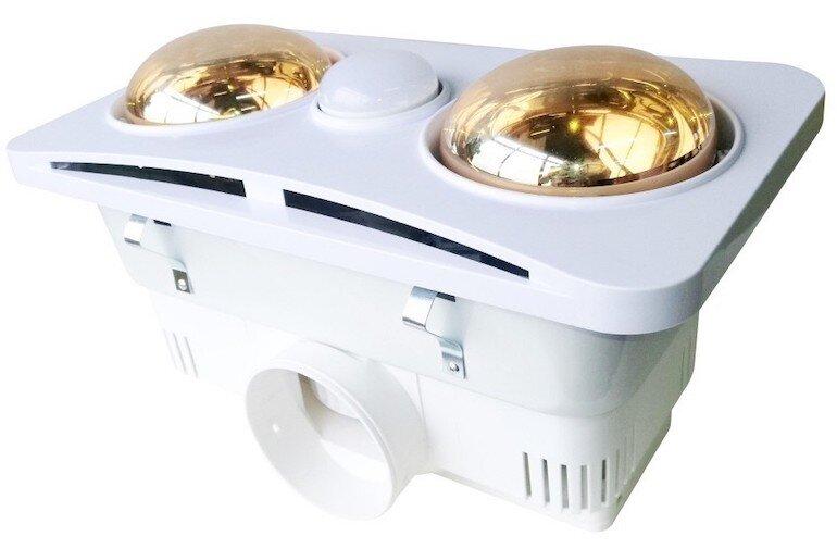 Đèn sưởi âm trần 2 bóng Braun Kohn BK02G