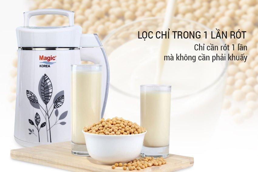 Sản phẩm máy làm sữa đậu nành Magic Korea uy tín chính hãng