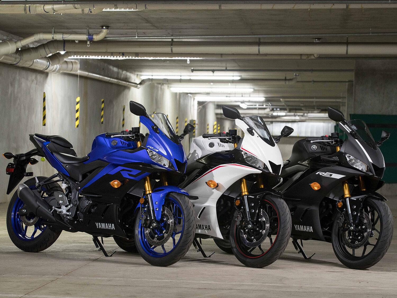 Yamaha R3 có nhiều màu sắc để bạn lựa chọn