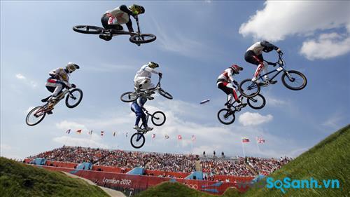 Bay với BMX Dirt Jump