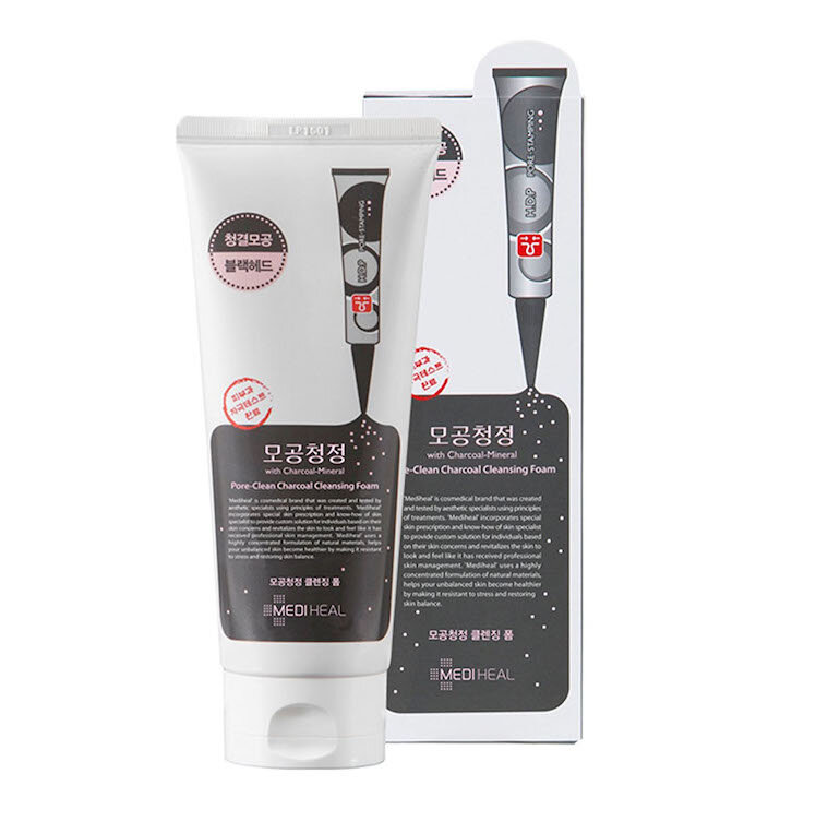 Sữa rửa mặt Mediheal Pore – Clean Charcoal Cleansing Foam