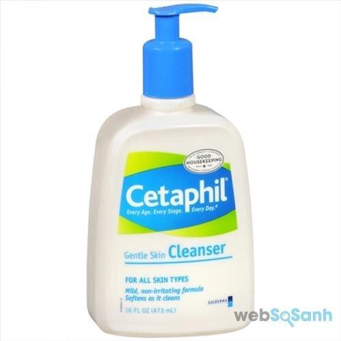sữa rửa mặt cho da nhạy cảm cetaphil giá bao nhiêu tiền