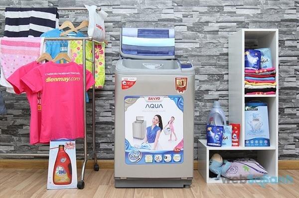 máy giặt Sanyo aqua 9kg inverter loại nào tốt
