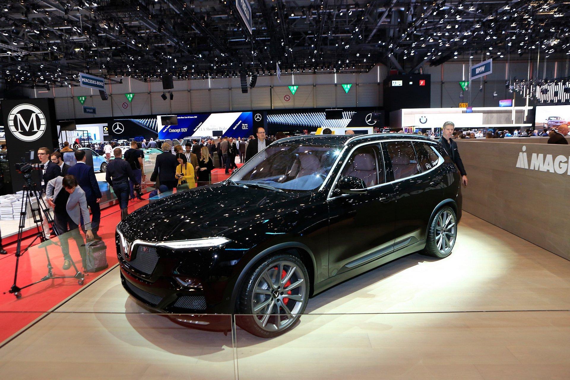 Hình ảnh xe ô tô VinFast Lux V8