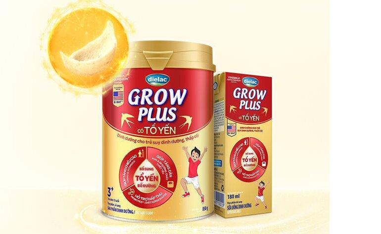 Sữa bột Dielac Grow Plus Tổ Yến