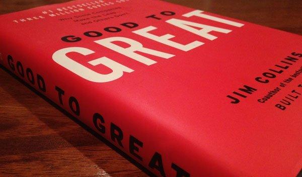 Từ Tốt Đến Vĩ Đại là cuốn sách hay nên đọc đối với bất kỳ nhà lãnh đạo hay quản lý nào.