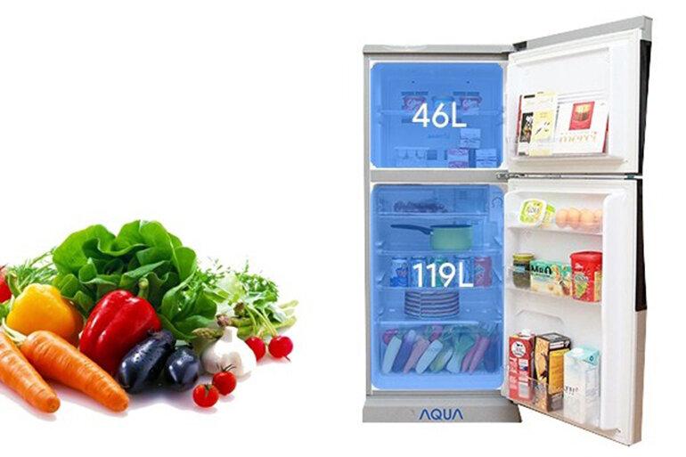 Tủ lạnh Aqua là thương hiệu tủ lạnh giá rẻ được nhiều gia đình lựa chọn.(Nguồn: Internet)