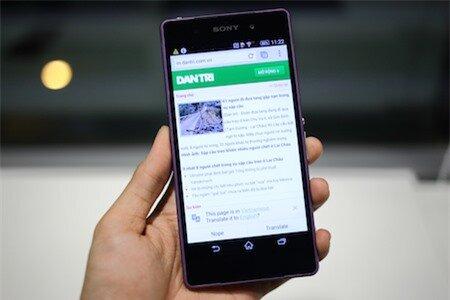 Xperia Z2 có màn hình rộng 5,2-inch