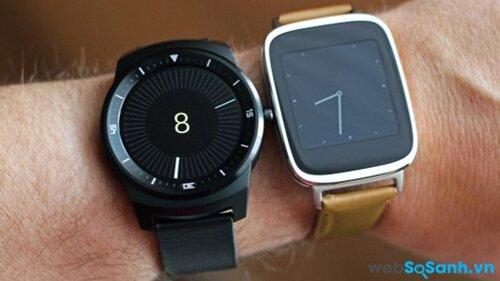 LG G Watch R và Asus ZenWatch. Nguồn Internet