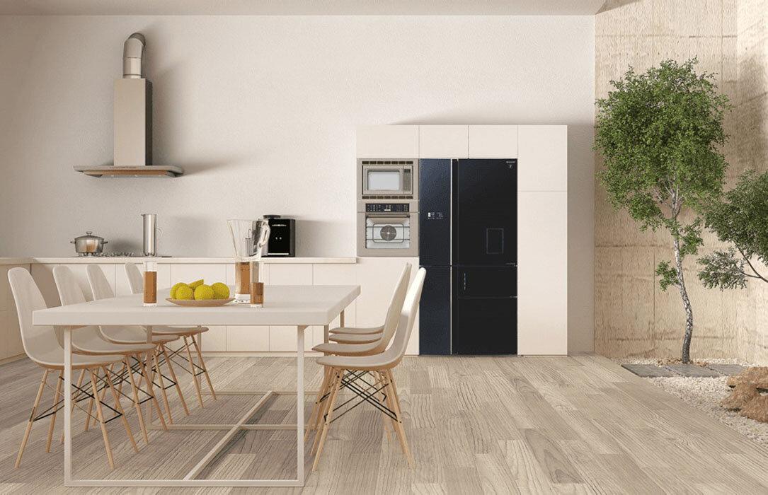 Tủ lạnh Sharp được tích hợp nhiều công nghệ hiện đại giúp tiết kiệm điện năng và đảm bảo sức khỏe người sử dụng.