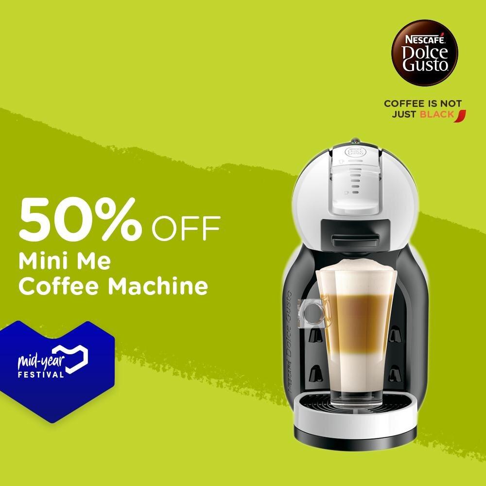 Bạn sẽ có ngay hương vị cafe yêu thích trong khoảng thời gian ngắn cùng viên nén cafe Nestle và máy pha tiện lợi Nescafe Dolce Gusto - Mini me