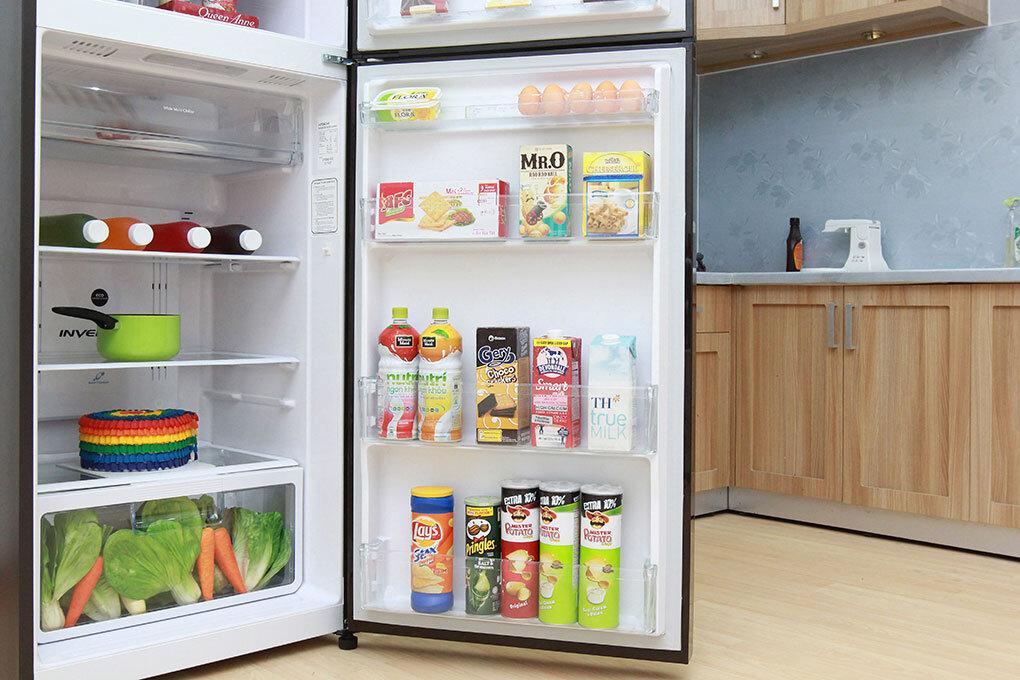 Nhiệt độ tùy chỉnh phù hợp với từng ngăn của tủ lạnh