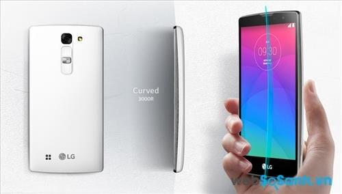 Smartphone LG Magna ấn tượng nhờ thiết kế màn hình cong độc đáo
