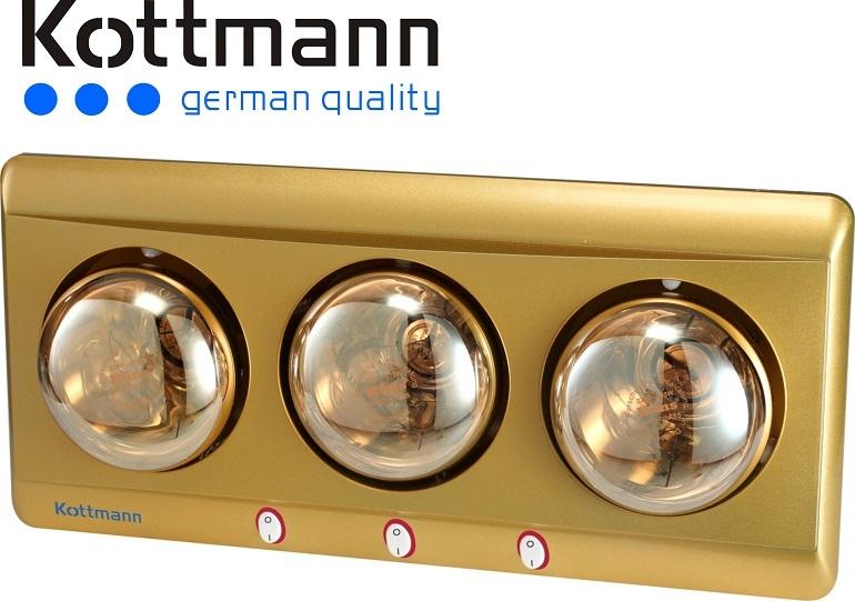 Thiết kế của đèn sưởi kottmann