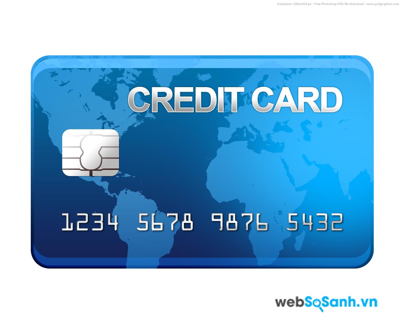 Thẻ tín dụng là hình thức sử dụng trước trả tiền sau